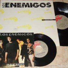 Discos de vinilo: MAXI- LOS ENEMIGOS. BOQUERON. GRABACIONES ACCIDENTALES 1989, REF. GA-347.+ SINGLE+SINGLE-PARACAIDAS-. Lote 151887758