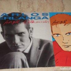 Discos de vinilo: LP- CARLOS BERLANGA - EL ANGEL EXTERMINADOR - HISPAVOX PRIMERA EDICION 1990-COMPLETO. Lote 151888906