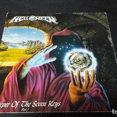 Discos de vinilo: HELLOWEEN - KEEPER OF THE SEVEN KEYS PART 1 ED. ESPAÑOLA 1987 GBBS R-1-002 BUEN ESTADO. Lote 151891494