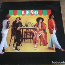 Discos de vinilo: LEÑO - M/T *********** RARO LP CHAPA 1979 PRIMERA EDICIÓN PORTADA DOBLE. Lote 151893278