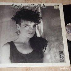 Discos de vinilo: ANA CURRA - MINI-LP (1985) MAXI-EP 4 TEMAS - UNA NOCHE SIN TI . Lote 151894610