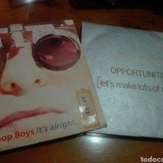 Discos de vinilo: LOTE 2 VINILOS PET SHOP BOYS. Lote 151896284