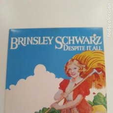 Discos de vinilo: BRINSLEY SCHWARZ DESPITE IT ALL ( 1970 CAPITOL USA ) BUEN ESTADO GENERAL NICK LOWE PUB ROCK. Lote 151902582