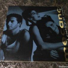 Discos de vinilo: MECANO - ENTRE EL CIELO Y EL SUELO (LP, ALBUM). Lote 151905302