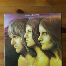 Discos de vinilo: EMERSON LAKE AND PALMER TRILOGY. Lote 151906709