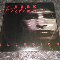 Discos de vinilo: DARK FICTION - ILLUSION. Lote 151906926