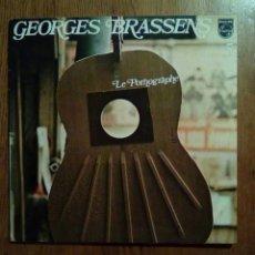 Discos de vinilo: GEORGES BRASSENS - LE PORNOGRAPHE, 5, PHILLIPS. FRANCE.. Lote 151907404