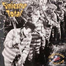 Discos de vinilo: DOBLE LP DE SINIESTRO TOTAL. TRABAJAR PARA EL ENEMIGO. DRO. 1992. Lote 151909398