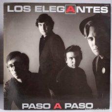 Discos de vinilo: LOS ELEGANTES. PASO A PASO. ZAFIRO. 1985. Lote 151910350