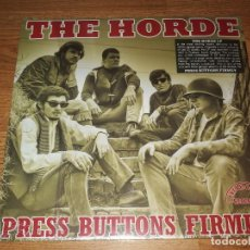 Discos de vinilo: THE HORDE LP+7 EP VINYL PRESS BUTTONS..(1967) BREAK-A-WAY RECORDS -GREAT US GARAGE . Lote 151912346