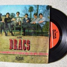 Discos de vinilo: LOS DRACS.VEN JOHNNY VEN + 3...RARO. Lote 151914690