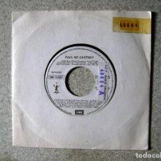 Discos de vinilo: PAUL MCCARTNEY.DISTRACTIONS POR AMBAS CARAS...PROMO RADIO. Lote 151914786