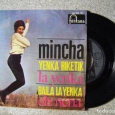 Discos de vinilo: MINCHA.LA YENKA + 3...RARO. Lote 151914862