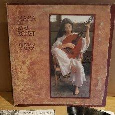 Discos de vinilo: MARIA DEL MAR BONET / BREVIARI D'AMOR / LP-GATEFOLD - ARIOLA - 1982 / MBC. ***/***. Lote 151925158