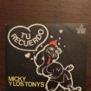Discos de vinilo: MICKY Y LOS TONYS – TU RECUERDO SELLO: COLUMBIA – MO 2062 FORMATO: VINYL, 7 , SINGLE, 45 RPM . Lote 151926290
