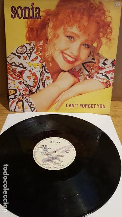 SONIA / CAN'T FORGET YOU / MAXI-SG - CHRYSALIS - 1989 / MBC. ***/*** (Música - Discos de Vinilo - Maxi Singles - Pop - Rock - New Wave Extranjero de los 80)
