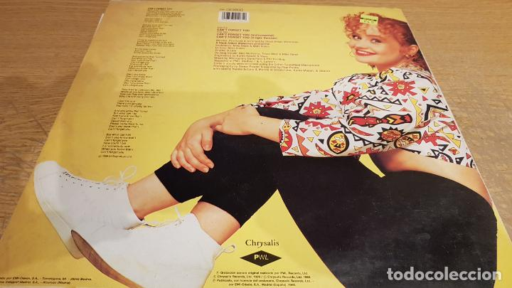 Discos de vinilo: SONIA / CANT FORGET YOU / MAXI-SG - CHRYSALIS - 1989 / MBC. ***/*** - Foto 2 - 151926430