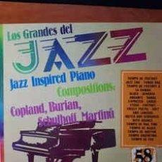 Discos de vinilo: COPLAND* / BURIAN* / MARTINU* / SCHULHOFF* - LOS GRANDES DEL JAZZ 58 (LP, COMP) LABEL:SARPE CAT#: G. Lote 151927826