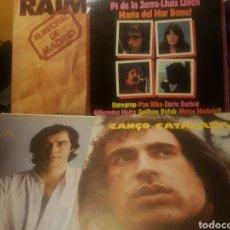 Discos de vinilo: LOTE DE 4 DISCOS LP (UNO DOBLE) DE LA CANÇO CATALANA. Lote 151928280