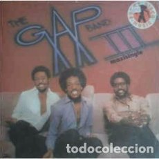 Discos de vinilo: THE GAP BAND - BURN RUBBER (WHY YOU WANNA HURT ME) / BABY BABA BOOGIE (12, MAXI) LABEL:MERCURY CAT. Lote 151928662