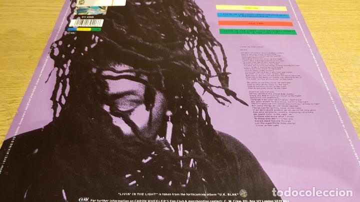 Discos de vinilo: CARON WHEELER / LIVIN IN TE LIGHT / MAXI-SG - RCA - 1990 / MBC. ***/*** - Foto 2 - 151931474