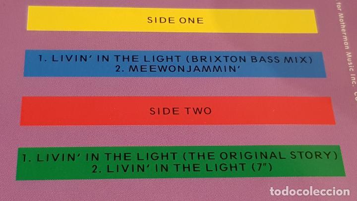 Discos de vinilo: CARON WHEELER / LIVIN IN TE LIGHT / MAXI-SG - RCA - 1990 / MBC. ***/*** - Foto 3 - 151931474