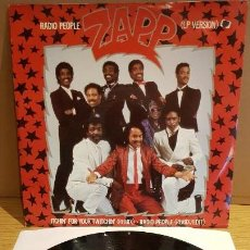Discos de vinilo: ZAPP / RADIO PEOPLE / MAXI-SG WEA - 1985 / MBC. ***/***. Lote 151932986