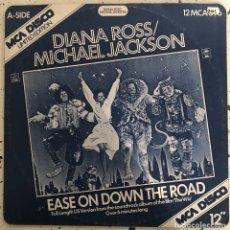 Discos de vinilo: MICHAEL JACKSON LP MAXI SINGLE VINILO EASE ON DOWN THE ROAD. Lote 151933656
