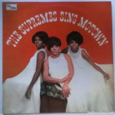 Discos de vinilo: THE SUPREMES. SING MOTOWN. TALMA-MOTOWN, UK 1967 LP ORIGINAL STML 11047. Lote 151938566
