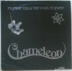 Discos de vinilo: FRANKIE VALLI & THE FOUR SEASONS. CHAMELEON. EMI-MOWEST, UK 1972 LP (MWS 7006, 0C 062 93608). Lote 151942946