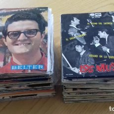 Discos de vinilo: LOTE 100 EPS. Y SINGLES AÑOS-50-80- RAREZAS, PROMOS, AUTOGRAFOS (VER TODOS EN FOTOS) . Lote 151949174