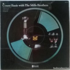 Discos de vinilo: COUNT BASIE. COUNT BASIE AND MILLS BROTHERS. ABC, USA 1975 LP (ABDP-4001). Lote 151949450