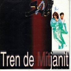 Discos de vinilo: SAU - TREN DE MITJANIT (SINGLE PROMO ESPAÑOL, EMI 1992). Lote 151951818