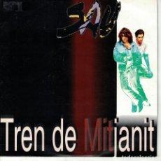 Discos de vinilo: SAU - TREN DE MITJANIT (SINGLE PROMO ESPAÑOL, EMI 1992). Lote 151952054