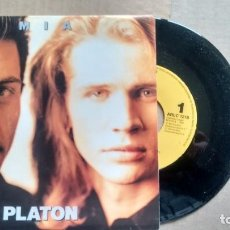Discos de vinilo: SINGLE (VINILO)-PROMOCION- DE PLATON AÑOS 90. Lote 151952842