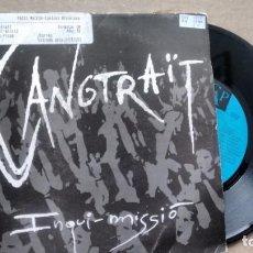 Disques de vinyle: SINGLE (VINILO)-PROMOCION- DE SANGRAÏT AÑOS 90. Lote 151953306