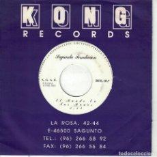 Discos de vinilo: SEGUNDA FUNDACION - EL MUNDO EN TUS MANOS (SINGLE PROMO ESPAÑOL, KONG RECORDS 1993). Lote 151953498