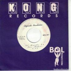 Discos de vinilo: SEGUNDA FUNDACION - EL MUNDO EN TUS MANOS (SINGLE PROMO ESPAÑOL, KONG RECORDS 1993). Lote 151953562