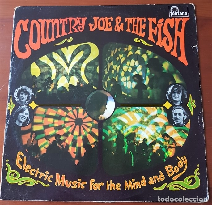 COUNTRY JOE AND THE FISH ORIGINAL UK 1967 (Música - Discos - LP Vinilo - Pop - Rock Extranjero de los 50 y 60)