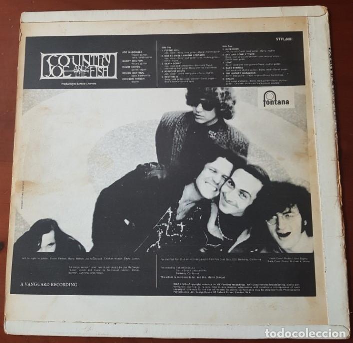 Discos de vinilo: Country Joe and the Fish original Uk 1967 - Foto 2 - 151955446