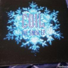 Discos de vinilo: COIL - THE SNOW EP. ELECTRÓNICA, INDUSTRIAL.. Lote 151963228