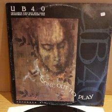 Discos de vinilo: UB 40 / COME OUT TO PLAY / MAXI-SG - VIRGIN - 1988 / MBC. ***/***. Lote 151965546