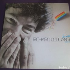Discos de vinilo: RICARDO COCCIANTE LP EPIC 1984 - SINCERIDAD (CANTADO EN ESPAÑOL) - ITALIA POP - SIN USO. Lote 151965694