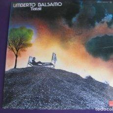 Discos de vinilo: UMBERTO BALSAMO LP POLYDOR 1976 - NATALÌ . ITALIA POP - EDICION ESPAÑOLA SIN USO. Lote 151966346