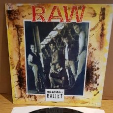 Discos de vinilo: SPANDAU BALLET / RAW / MAXI-SG - CBS - 1988 / MBC. ***/***. Lote 151966410