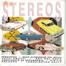 Discos de vinilo: STEREOS - MEDLEY ROCK N ROLL (SINGLE ESPAÑOL, TWINS 1991). Lote 151973714