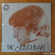 Discos de vinilo: NICOLA DI BARI - NICOLA DI BARI EN ESPAÑOL - LP. Lote 151975926