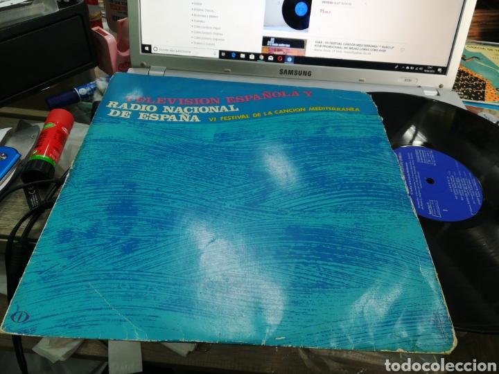 VI FESTIVAL DE LA CANCIÓN MEDITERRÁNEA LP PROMOCIONAL 1964 ESCUCHADO (Música - Discos - LP Vinilo - Otros Festivales de la Canción)