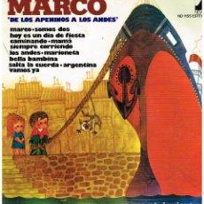 Discos de vinilo: MARCO DE LOS APENINOS A LOS ANDES - LP 1977. Lote 151978262