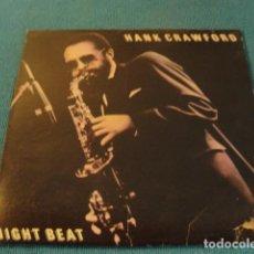 Discos de vinilo: LOTE LP HANK CRAWFORD NIGHT BEAT SELLO MILESTONE 1989 ED USA. Lote 151979906